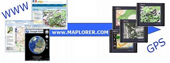 MAPLORER - Free software for Windows CE and Windows mobile based GPS